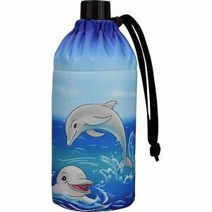 Trinkflasche Glas Kind : flasche 0 4 liter delfine glasflasche trinkflasche isolierflasche glas delfin delphin delphine ~ Watch28wear.com Haus und Dekorationen