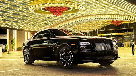 2017 Rolls Royce Wraith Black Badge Wallpaper