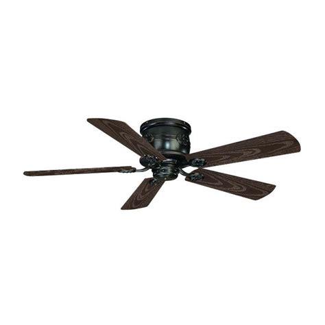 english bronze capri flush mount ceiling fan