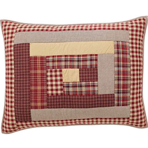 quilted pillow shams braddock standard quilted pillow sham teton t trading