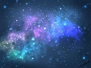 Rainbow Nebula by Crystal124 on DeviantArt