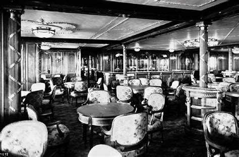 Third Class Dining Room On The Titanic by Titanic Centenary April 14 1912 Iceberg Right Ahead