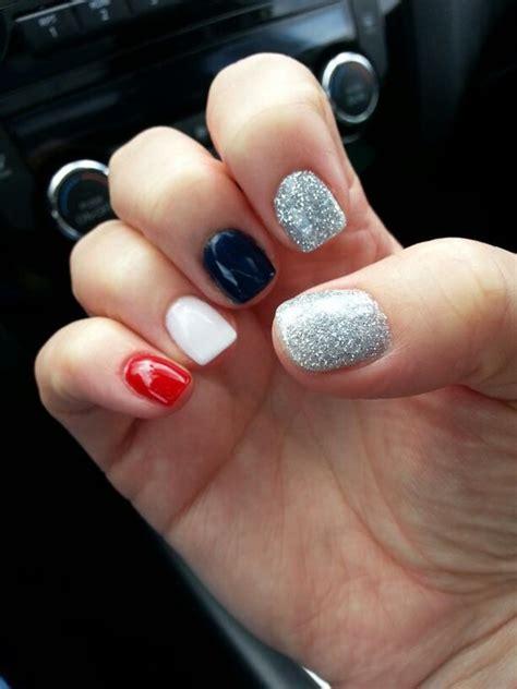 anc nail designs my 4th of july anc nails nails nails and