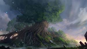 Yggdrasil II by JJcanvas on DeviantArt