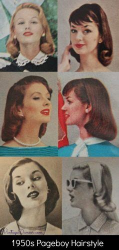1950s Pageboy Hairstyle by 1950s Hairstyles 50s Hairstyles From To