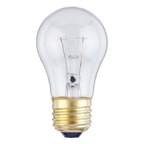 40 watt incandescent bulb westinghouse a15 40 watt medium base incandescent l 3907