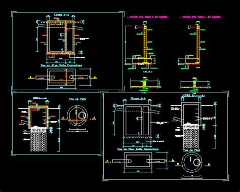 septic tank dwg block  autocad designs cad