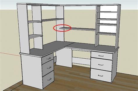 woodwork wood plans corner desk  plans