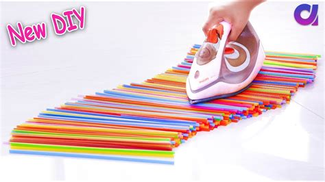 10 New Drinking Straw Reuse Ideas  Best Out Of Waste