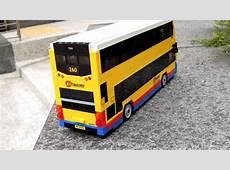 Hong Kong Citybus Dennis Enviro 400 bus built by LEGO 樂高城巴