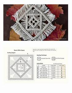Macrame Tablecloth Instructions By Rokas