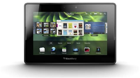 BlackBerry PlayBook tablet gets price and release date