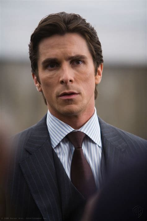 Christian Bale Bruce Wayne The Dark Knight