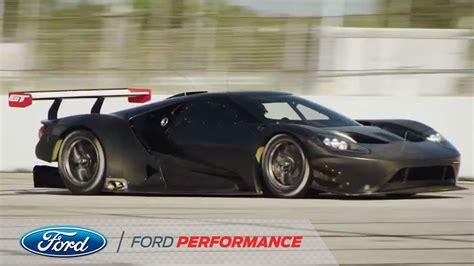 Ford Gt Racing Development