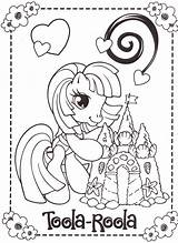 Coloring Pages Pony Little Sheets Unicorn Stream Birthday Colouring Mlp Template Rainbow Flickr Horse Draw Drawings Party Cute Garden sketch template