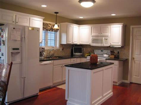 Small L Shaped Kitchen Remodel Ideas by Kitchen Remodel On A Small Budget We A Typical Quot L