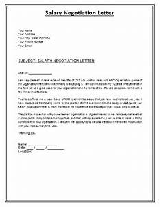 salary negotiation letter to employer archives 150 With salary negotiation email template