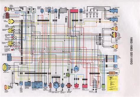 R 1100 G Electrical Circuit Diagram by Suzuki Gs 850 Wiring Diagram Imageresizertool