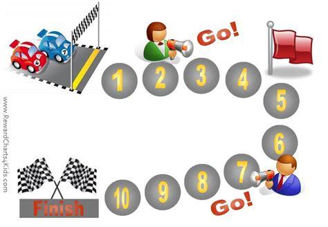 behavior charts  racing car classroom ideas