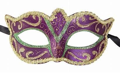 Mask Masquerade Gras Mardi Venetian Masks Purple