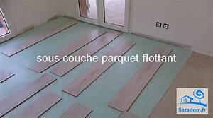 Sous Couche Parquet Flottant 10mm : prix sous couche parquet flottant pose parquet flottant ~ Nature-et-papiers.com Idées de Décoration