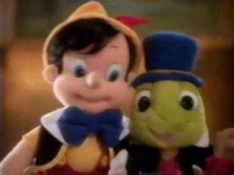 1992 Mattel Plush Pinocchio & Jiminy Cricket Doll ...