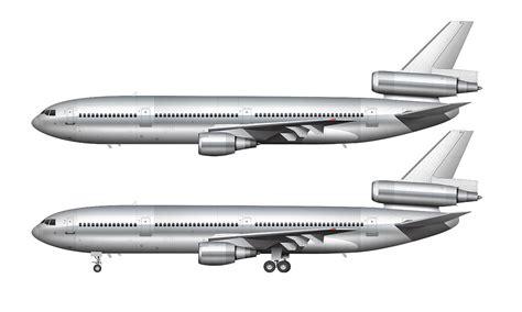 air livery templates illustrator mcdonnell douglas dc 10 30 blank templates norebbo