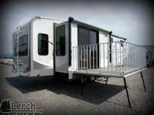 Movable Kitchen Island 2012 Open Range 345rls With Patio Deck Used Fifth Wheel Rv For Sale Lerch Rv Sales And
