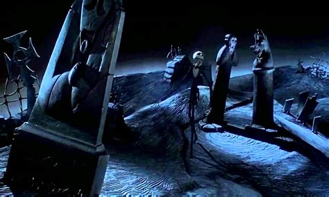 Graveyard Nightmare Before Background Images by Tim Burton S The Nightmare Before Beat Sheet