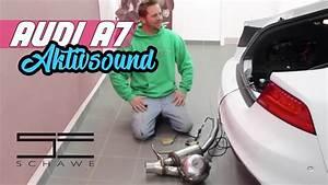 Audi A6 Soundmodul : audi a7 aktiv sound auspuffanlage mit soundmodul von ~ Kayakingforconservation.com Haus und Dekorationen