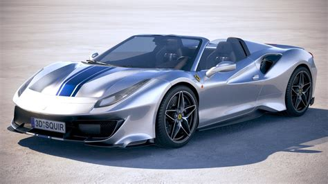 The ferrari 488 pista spider is a swansong for the brand's 488 supercar. Ferrari 488 Pista Spider Wallpapers | YL Computing