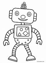 Robot Coloring Pages sketch template