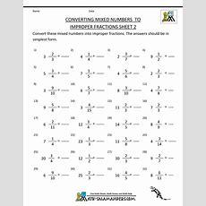 Printablefractionworksheetsconvertmixednumberstoimproperfractions2gif (1000×1294