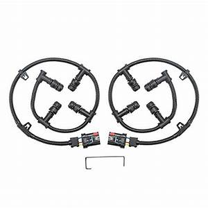 Ford 6 0 Glow Plug Connector Wire Harness Kit  Left