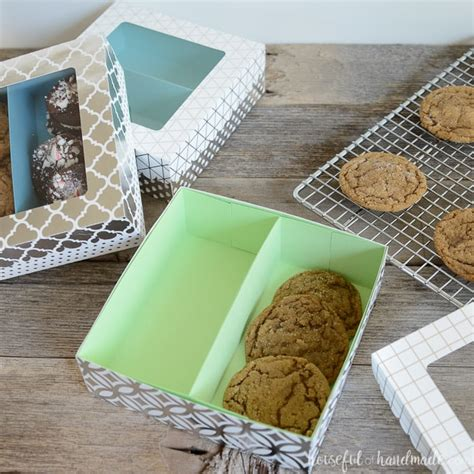 easy cookie gift boxes diy  houseful  handmade