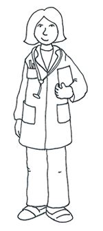 14920 doctor clipart black and white clipart images