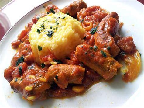 cuisine r騏nionnaise rougail saucisse recette de rougail r 233 unionnais