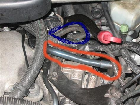 2003 Chevy Venture Vacuum Hose Diagram by 2000 Chevy Venture Vacuum Hose Ok The Hose On The