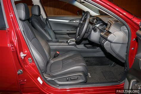 2016 Honda Civic FC 1.8 S, 1.5 Turbo, 1.5 Turbo Premium ...