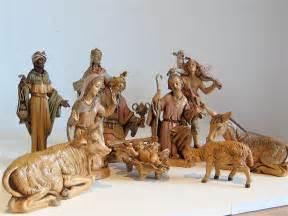 vintage nativity scene italian fontanini by elansolete on etsy