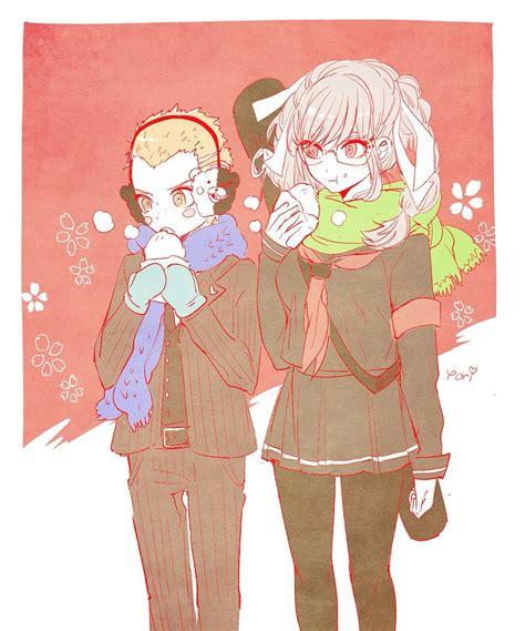 Fuyuhiko And Peko Danganronpa Characters Danganronpa
