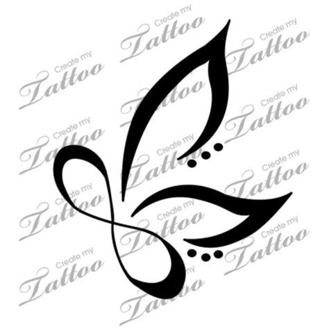 infinity butterfly tattoo  pinterest simple butterfly