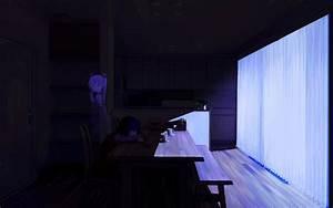 Wallpaper : dark, anime girls, room, table, blue, Vocaloid ...