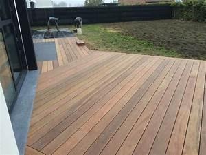 Terrasse Bois Exotique : terrasse bois exotique et ardoise ~ Melissatoandfro.com Idées de Décoration