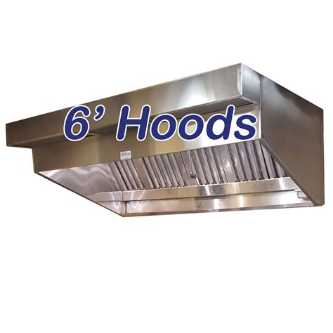 sloped canopy hoods   ceiling commercial hood