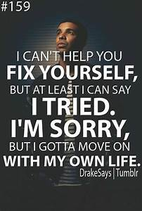 Moving On Quotes Tumblr Drake – Quotesta