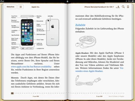 iphone 7 bedienungsanleitung iphone handbuch zu ios 7 kostenloser der