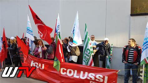 Inps Sede Di Perugia Licenziamenti Colussi Lavoratori Davanti A Sede Confindustria