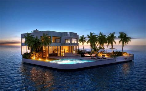 5 Amazing Luxurious Floating Homes