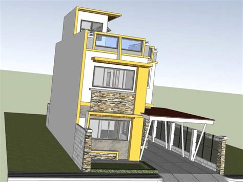 storey house roof deck youtube house plans